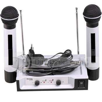 * NEW Superlux dual channel handheld wireless microphones