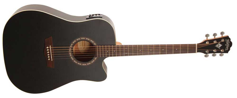* Washburn WD7SCE acoustic electric guitar