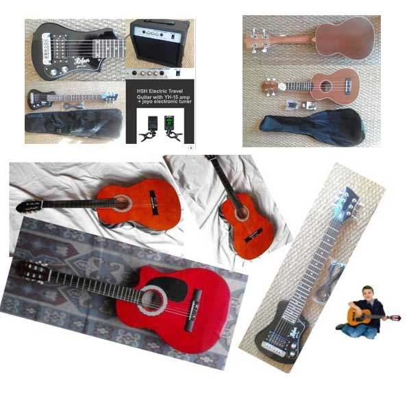Guitars Ukulele Banjo Childrens guitar mandolins