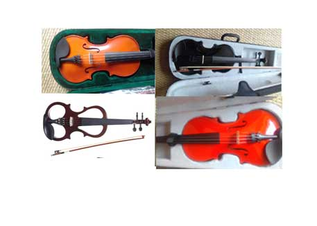 Violins for all ages and skills