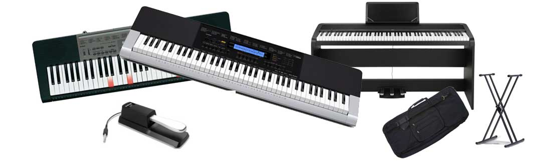 Music Keyboards and Digital Pianos