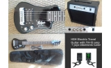 * HSH Electric Travel Guitar with YD15 15 watt guitar amplifier  tuner *view CAPETOWN