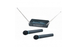 DTECH VHF Dual wireless handheld microphones * View CAPETOWN  UP*