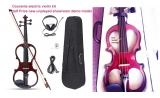 Courante Electric frame violin (4/4) with headphones shoulder rest  *View CAPETOWN
