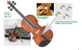 Courante violin outfit- antique stain FULL 4/4 SIZE AGES 12 -adult including setup + 4 fine tuners *View CAPETOWN