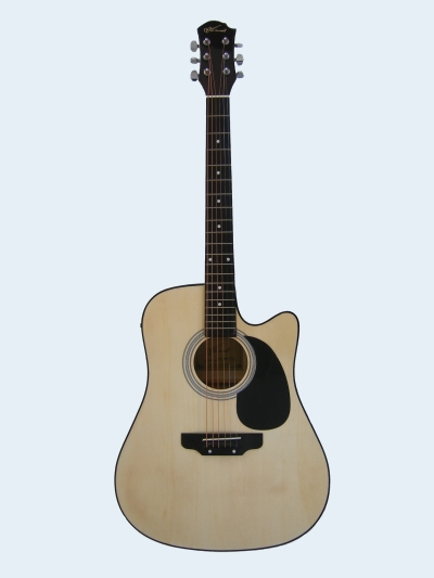 Acoustic Electric Guitar  Maxwell Cutaway MX-W0010CE NAtural